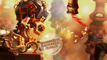 Rayman Fiesta Run Скриншоты7