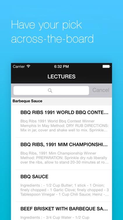 Barbeque Recipes screenshot-3