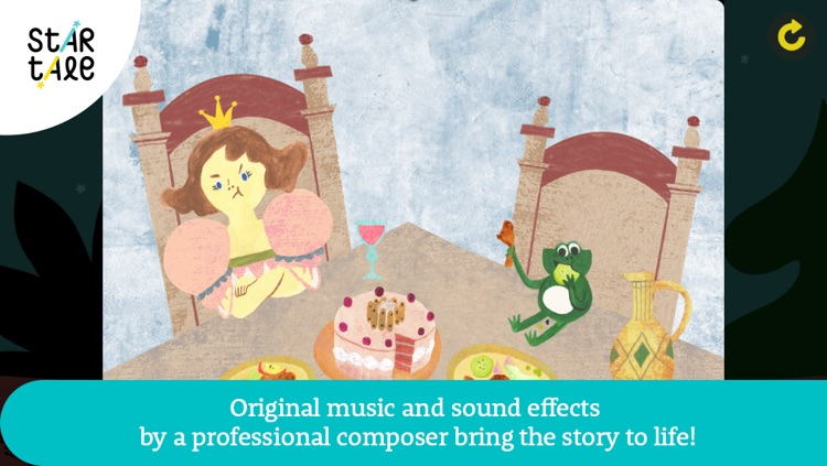 The Frog Prince : Star Tale - Interactive Fairy Tales for Kids screenshot-3