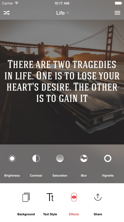 Kwote: A Quote Maker for Inspirational and Motivational Quotes, Sayings and Text on Photo Background Editor