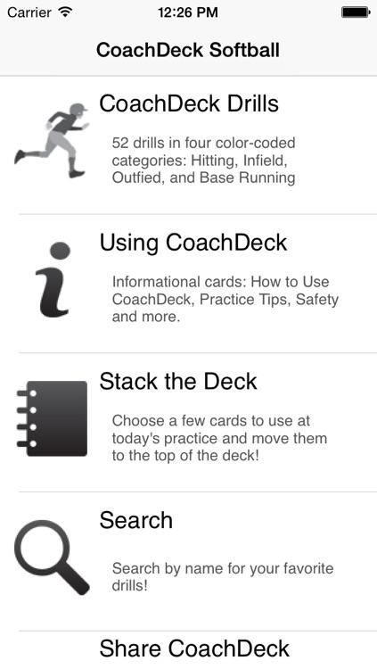 CoachDeck Softball Lite