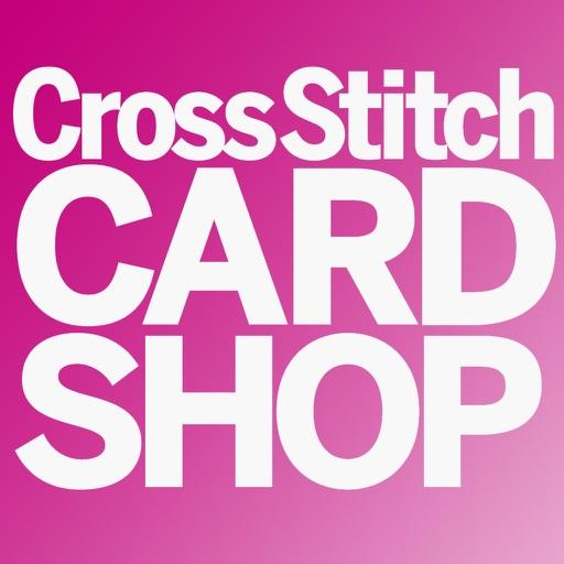 Cross Stitch Card Shop – how to cross stitch cards, cross stitch patterns, cross stitch embroidery icon
