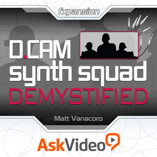 AV for DCAM Synth Squad Demystified