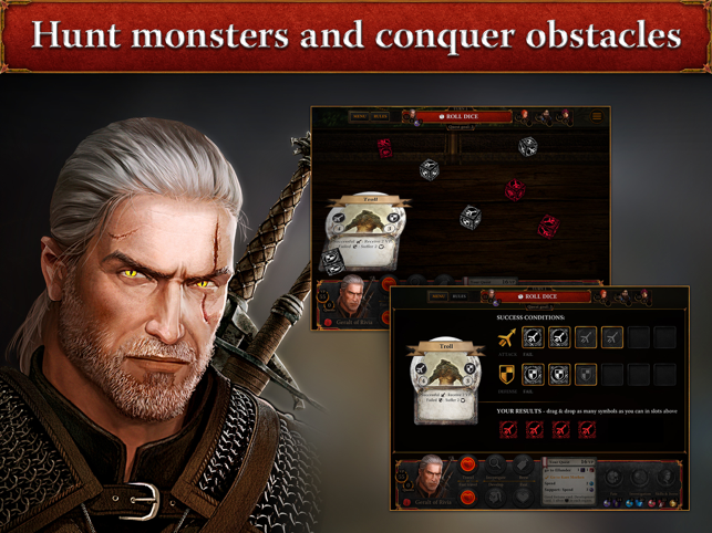 The Witcher Adventure Game Screenshot