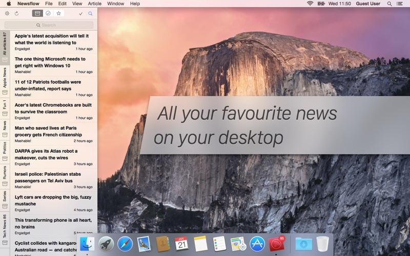 Newsflow: The No.1 News Ticker Screenshot 03 xnj6bn