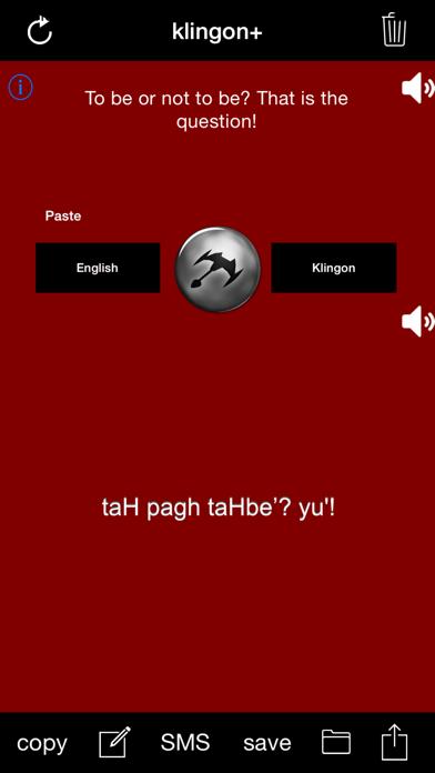 klingon+ screenshot two