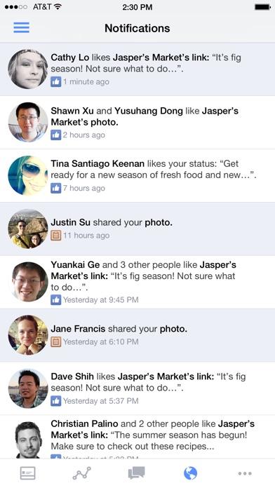 Gestionnaire de Pages Facebook