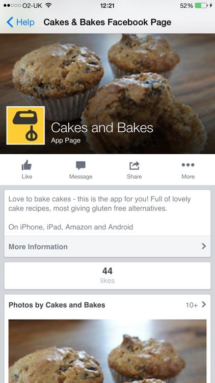Cakes and Bakes screenshot-4