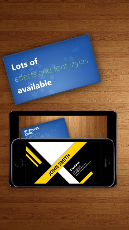 Business Card Studio Designer - Graphic Creator, Editor & Maker with Logos & Icons screenshot-3