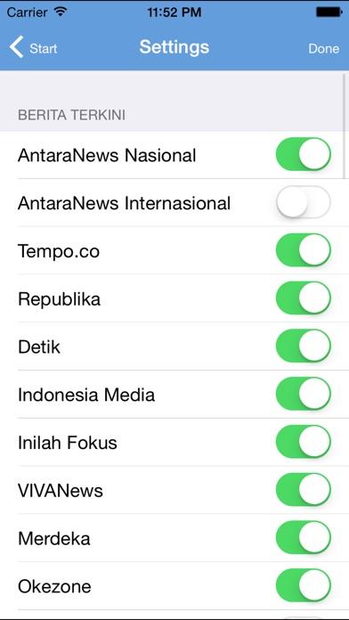 Indonesia Berita News iPhone