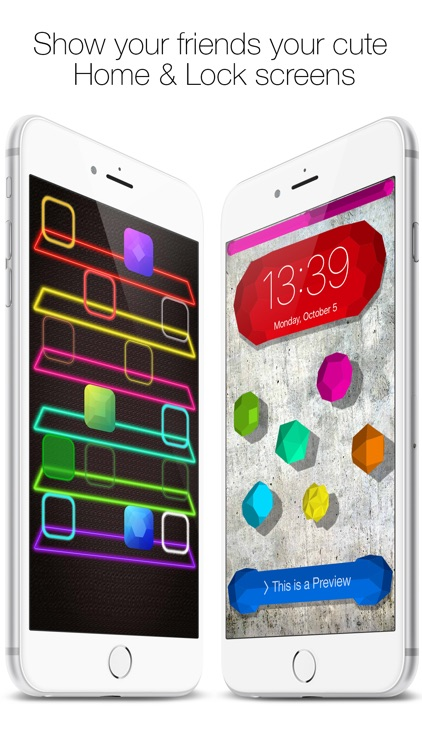 Icon Skins Builder - Create Custom Home & Lock Screen Backgrounds and Wallpapers screenshot-4