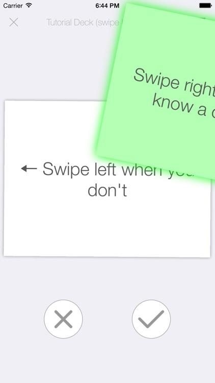 FlipFlash - Flash Cards You Can Swipe
