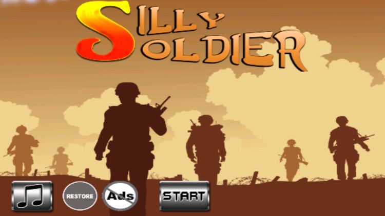Silly Soldier - Arms vs. Fist Will Pull The Trigger
