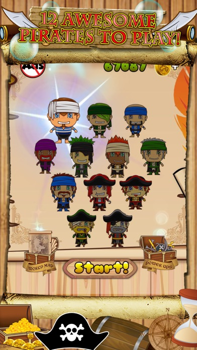 Awesome Pirate Jump Crazy Adventure Game by Super