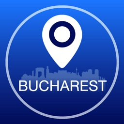Bucharest Offline Map + City Guide Navigator, Attractions and Transports