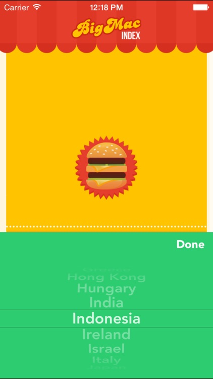 Big Mac Index App