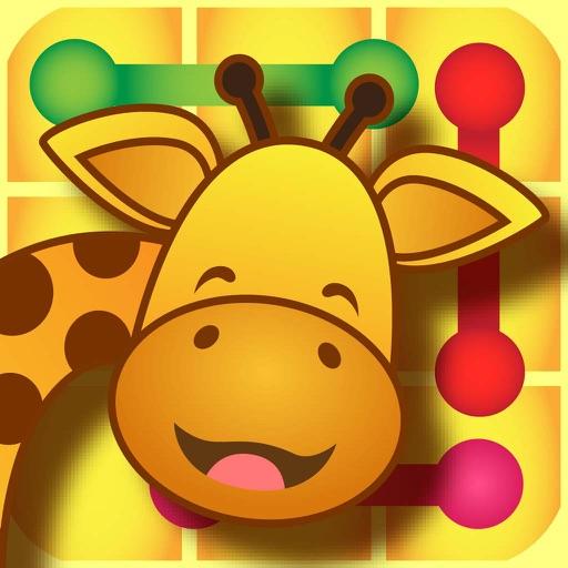 Animal wonder shadow zoo: Where's my shadow crazy crossing line scramble iOS App