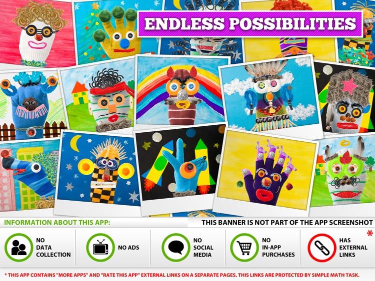 Puppet Workshop - Creativity App for Kids screenshot-4