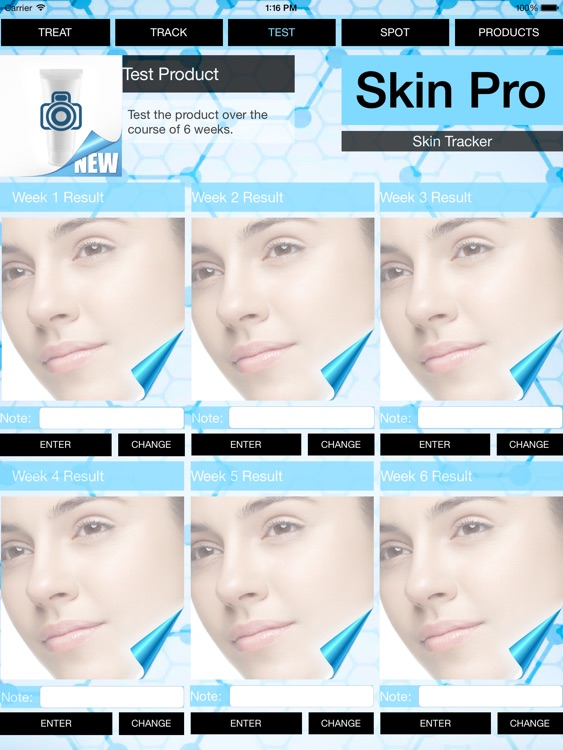 Skin Pro - Track skin problems improvement, design your daily routine & rate used products! screenshot-3