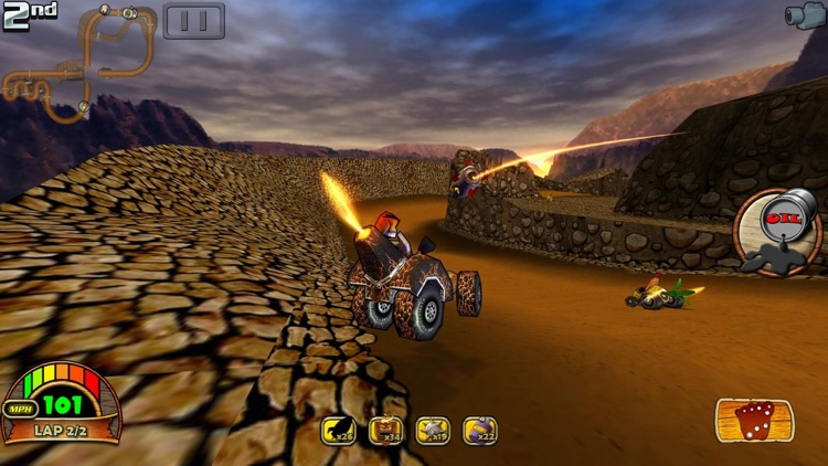 Tiki Kart 3D screenshot-3