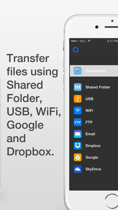 Screenshot for WiFi HD - Instant Hard Drive SMB Network Server Share in Austria App Store
