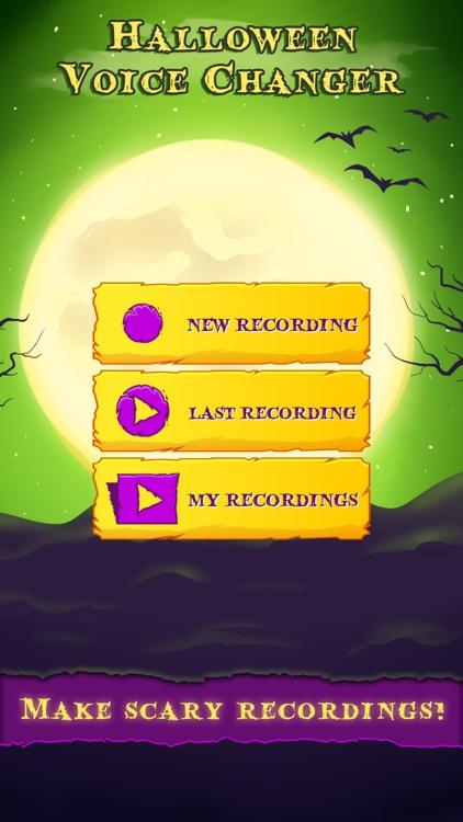 Halloween Voice Changer Scary Audio Prank