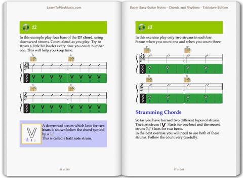Super Easy Guitar Lessons - Notes, Chords & Rhythms with TAB by ...