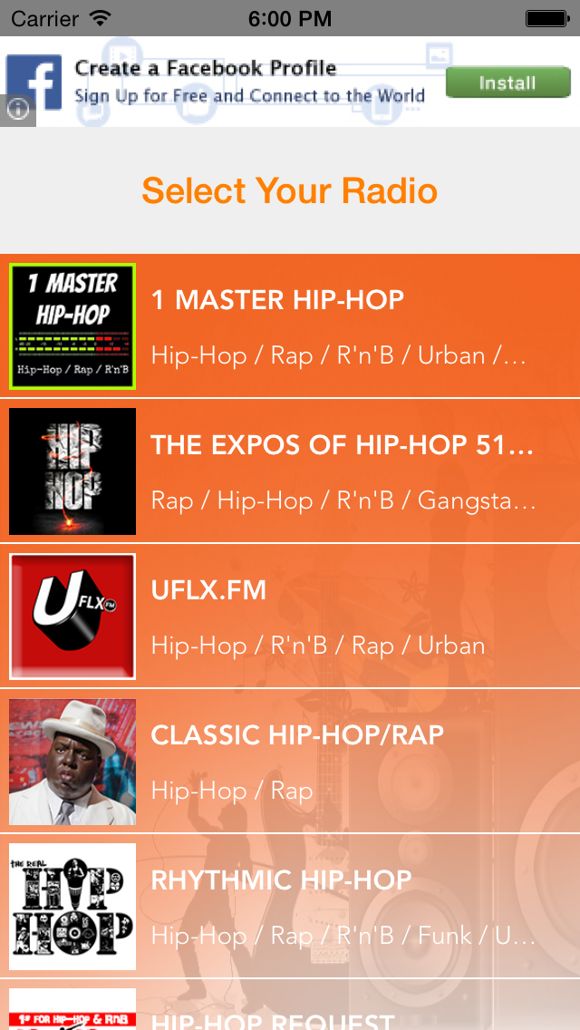 Rap Radio - Rap and Hip Hop Musicのおすすめ画像1