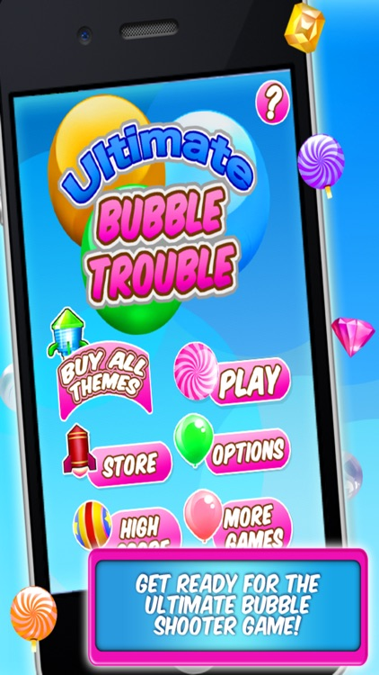 Ultimate Bubble Trouble Shooter Game - Play Free Fun Kids Puzzle Games
