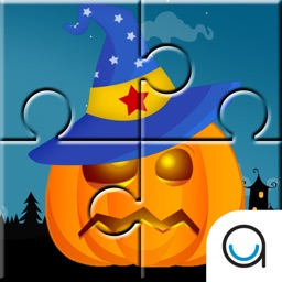 Halloween Jigsaw Puzzles for Toddlers and Kids FREE