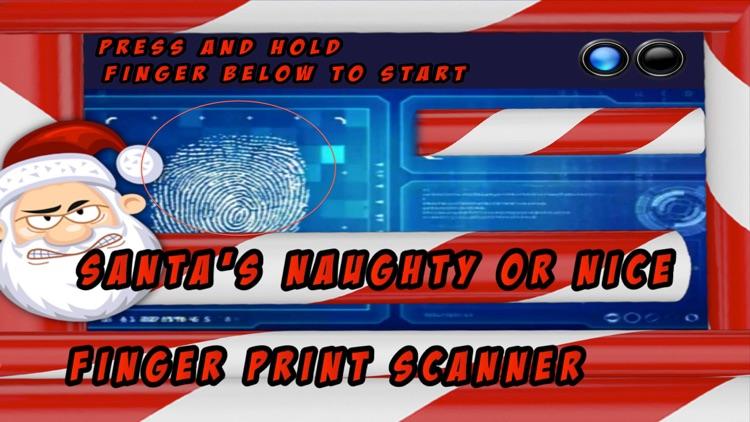 Santa's Good Or Bad Finger Print Scanner™ screenshot-3