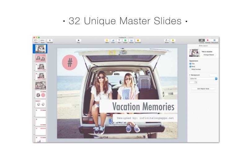 Fuel for Keynote Lite - Themes & Templates for Keynote Presentations скриншот программы 2