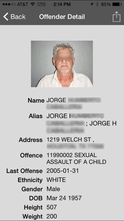 Offender Locator Lite screenshot-4