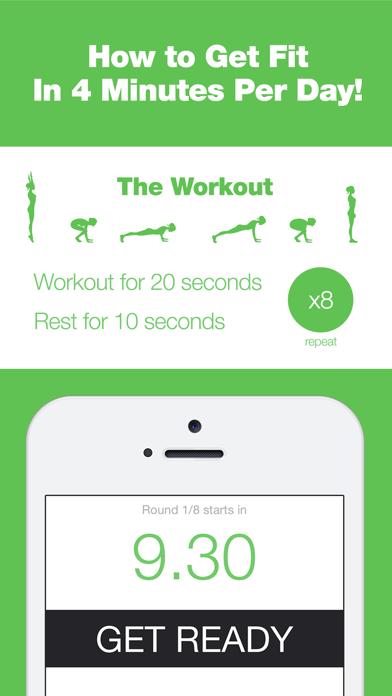 4 Minute Burpee Challenge - Get Fit in 90 Days of Intensive Tabata Interval Trainingのおすすめ画像3