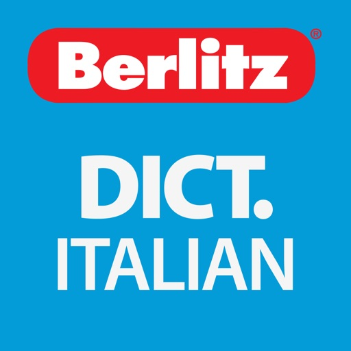 Italian - English Berlitz Standard Talking Dictionary
