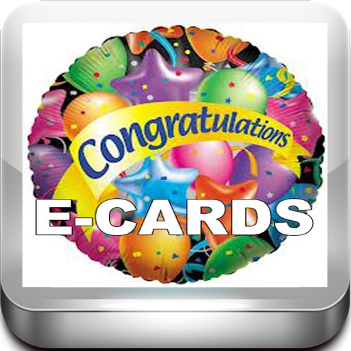 Congratulation Cards Maker with Photo Editor.Congratulation Greeting Cards. icon