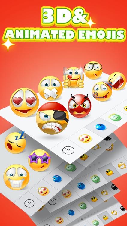 5000+ Emoji New - 3D Animated Emoticons screenshot-3
