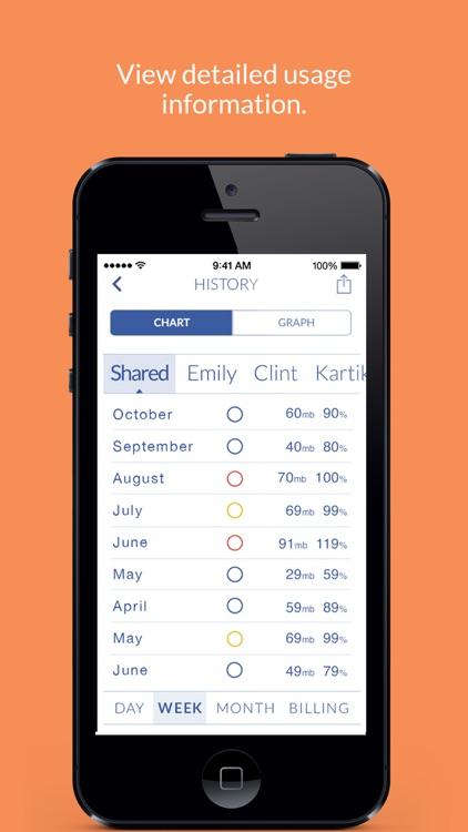 Spottr - Group Data Usage Manager screenshot-4