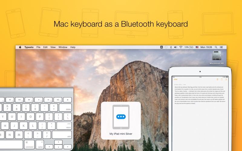Typeeto: remote BT keyboard Screenshots