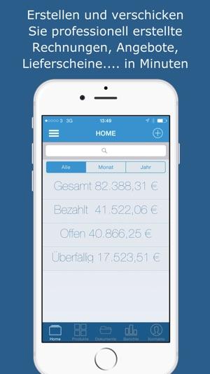Rechnung Angebot Lieferschein On The App Store