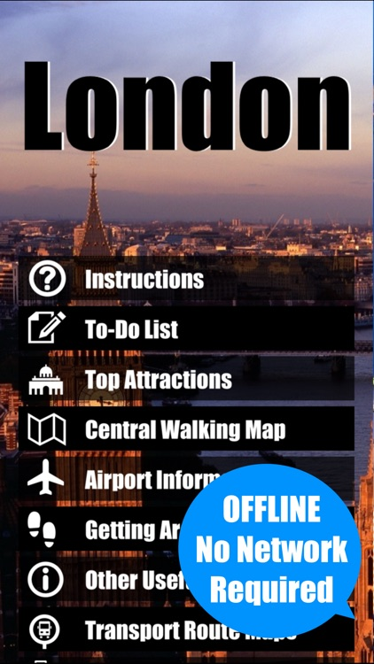 London travel guide metro tube city map