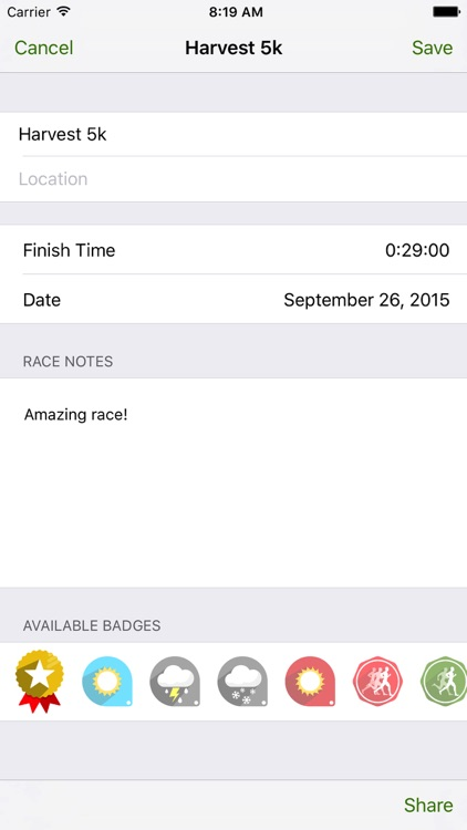 Pace Calculator by RBIDesign