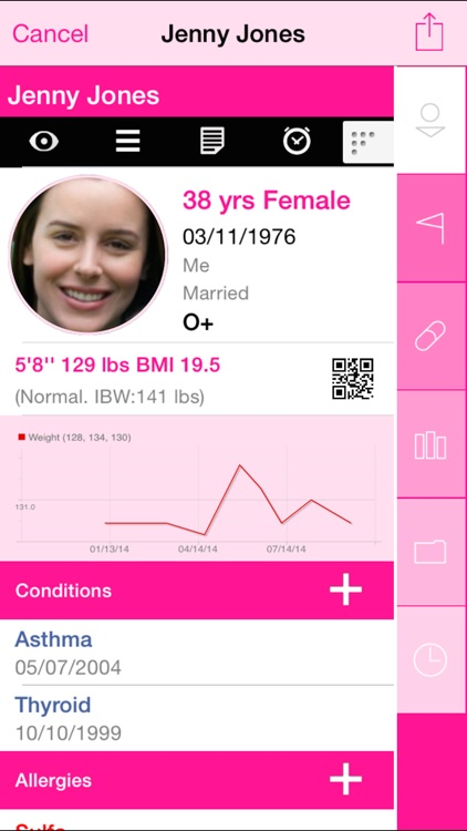 Capzule PHR - Your Personal Health Record. screenshot-1