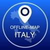 イタリアオフライン地図+シティガイドナビゲーター、アトラクションとトランスポート