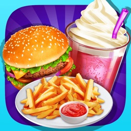 Cooking Games Fever Fast Food Maker & Kitchen Chef by Lapusanu ...