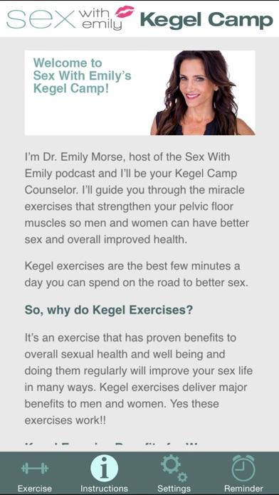 Kegel Camp review screenshots