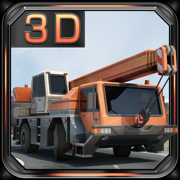 Construction Crane 3D Parking - Realistic Driving Simulator