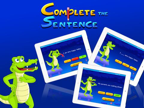 Complete The Sentence For Kidsのおすすめ画像1
