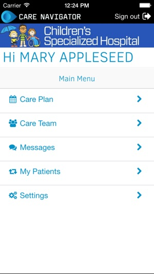 Childrens specialized care navigator on the app store screenshots malvernweather Gallery