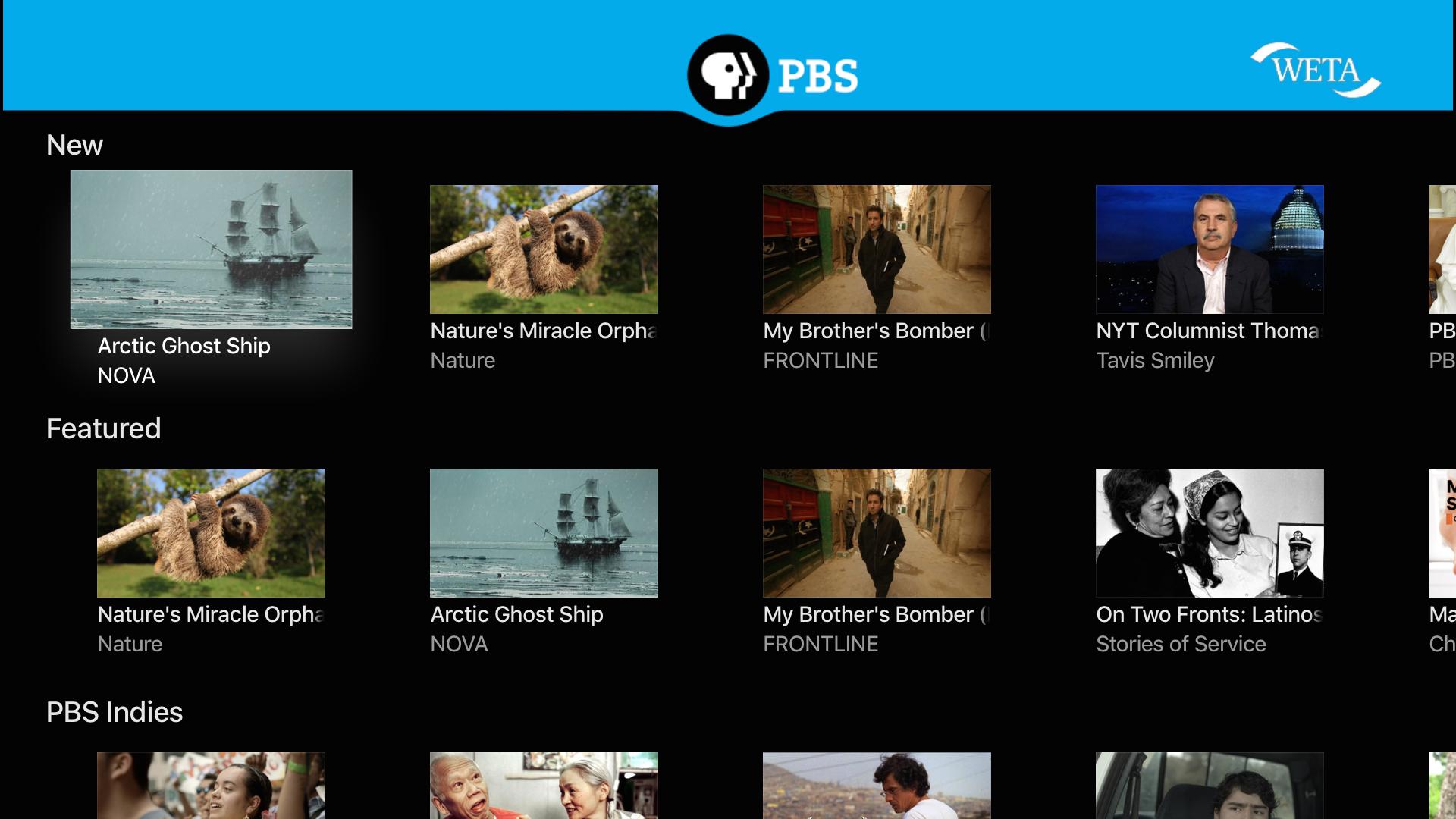 PBS Video screenshot 11